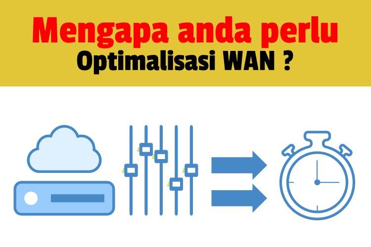 Mengapa Perlu Optimalisasi WAN ?